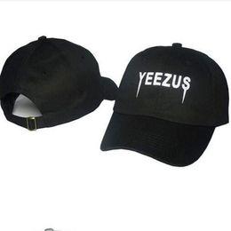 2019 temporada de las botas más calientes Caliente Kanye West Yeezus Cap Hat Boost Duck Boot Season Owl Casquette 100% algodón Chapeau Strapback Snapback Caps rebajas temporada de las botas más calientes