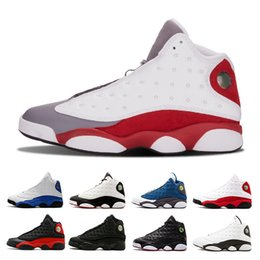 buy popular e782e 7366f 13 Grey Toe Black Cat Melo Klasse von 2003 Herren-Basketballschuhen Herren Er  bekam Spielgeschichte des Fluges Phantom Chicago Sneaker-Schuhe