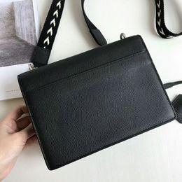 2019 bolsos de cuero rojo con descuento Alta calidad 2018 bolso realmente bolsos de cuero bolsos de mujer o bolso diseñador mujer bolsas de mensajero con cadenas bolsas femininas envío gratis