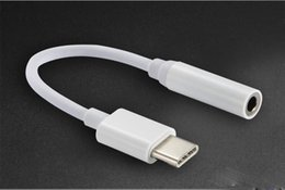 Wholesale Headphone Plug Types - USB 3.1 Type C Earphone Adapter to 3.5mm Jack Earphone Audio Conversion Headphone Plug Covertor Adapter for Type-C typec Smartphone
