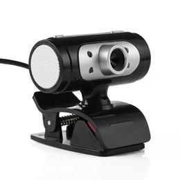 Alta Definição 1280 * 720 720 p Pixel 4 LED HD Webcams Web Cam Câmera Com Luzes Da Noite Para O Computador de Alta Qualidade de