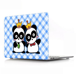 Wholesale Animal Notebooks - A lovely and convenient notebook to protect the hard shell Cartoon and Animal Laptop Body Shell Protective Rubberized Hard Case for Macbook