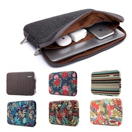 Wholesale book cover printing - Fashion Bohemian Design Laptop Sleeve Bag for Macbook Air Pro Retina 11 12 13 15 Inch Laptop Cover for Mac book Air Sleeve Case