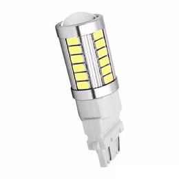 T25 3157 P27 / 7W 33 SMD 5630 5730 LED Luci posteriori per auto 33SMD Motor Daytime Running Light Segnale di direzione bianco / rosso / giallo da 15 perline fornitori