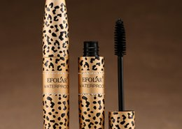 Mascara 3D Fiber Black Curling Long Eye Lashes Mascara Naturellement Léopard ? partir de fabricateur