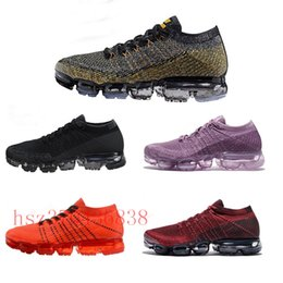 Wholesale rainbow shoes sale - HOT SALE 2018 New Vapormax Rainbow BE TRUE Gold White Red Pink Women Men Mens Designer Running Air Shoes Sneakers Brand Trainers
