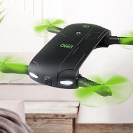 alarme chave de tampa Desconto JJRC DHD D5 Selfie Drone Com Câmera Dobrável Rc Drones de Controle de Telefone RC Helicóptero Fpv Quadcopter Mini Dron