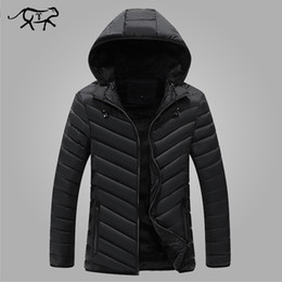 feb28a55607 Winter Parkas Men s Jackets 2017 Popular Casual Slim Hooded Coats Men  Outerwear Cotton Jacket Male Fashion Brand Clothing L-3XL