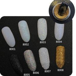 2g / Box Holographic Glitter per unghie Polvere brillante per unghie Glitter polvere Polvere Polvere Decorazioni Nail Art Set da eye makeup brush sets fornitori