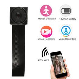 caméra cachée de vision nocturne sans fil Promotion Mini WIFI Caméra Réseau P2P Micro Caméra DIY Caméra Sans Fil Module Motion Activé DV Vedio Enregistreur WIFI Mini Caméscope