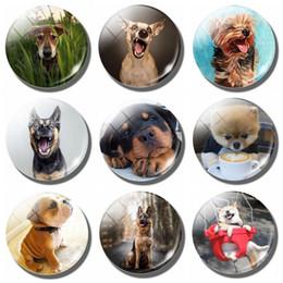 Прекрасный собака Магнит холодильник Примечания немецкая овчарка магнитные наклейки холодильник французский собак сообщение магниты Akitas Home Decor cheap magnet dog от Поставщики собака-магнит