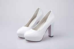 Día de la boda talones online-Día de San Valentín Mujer Tacones altos Zapatos Punta estrecha Bombas básicas Zapatillas de barco Mujer Zapatos de boda Primavera