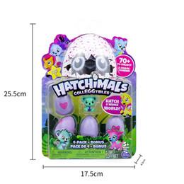 Wholesale Baby Toys Sound - Hatchimals Colleggtibles Season 1 Nest 4-Pack + Bonus Bundle Baby Mini Egg Carton Collection Toys for Kids Novelty Toy1