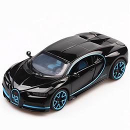 1:32 Jouet De Voiture Bugatti Chiron En Métal Jouet En Alliage De Voiture Découpées Sous Pression Véhicules Modèle Miniature Échelle Modèle Jouets Pour Enfants ? partir de fabricateur