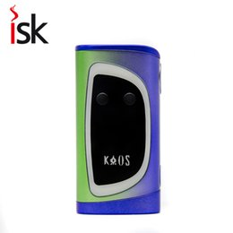 Wholesale Two Color Pens - New Original vape pen Sigelei kaos 230w Box Mod electronic Cigarette Color Display Screen fit with two 18650 batteries
