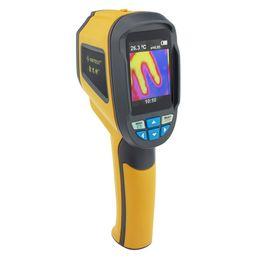 Nuevo instrumento de Cámara Térmica Cámara Termómetro Infrarrojo IR Imágenes de Dispositivo Portátil de Mano auto Testing equipment total pixels1024 desde fabricantes