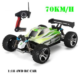 Wholesale Radio Control Trucks - Wltoys A959 -B 70km  H Rc Racing Car 1 :18 Scale 4wd Truck Off -Road Vehicle Buggy Climbing Car Radio Control A959 Updated Version
