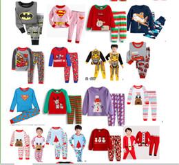 a5bfbfd1a3 2019 pijamas de muñeco de nieve para niñas 2-7T pijamas de Navidad ropa de