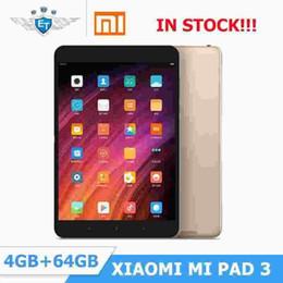 ram-pad-tablette Rabatt Ursprüngliches Xiaomi Mipad Mi Pad 3 7,9 '' Tablet PC MIUI 8 4 GB RAM 64 GB ROM MediaTek MT8176 Hexa-Kern 2,1 GHz 2048 * 1536 13MP 6600 mAh