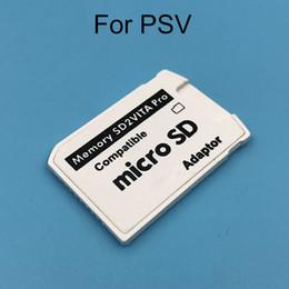 Sürüm 5.0 SD2VITA PS Vita Hafıza TF Kart için PSVita Oyun Kartı PSV 1000 2000 Adaptörü 3.60 Sistemi Mikro SD kart DHL FEDEX EMS ÜCRETSIZ GEMI nereden sd kart sürümleri tedarikçiler