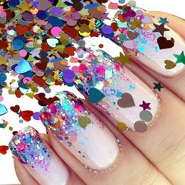 Nails Art & Werkzeuge 1 Box 2mm Raute Paillette Dazzling Gemischte Diamant Aufkleber Tipps Nagel Pailletten Funkelnde Bunte Glitter Nail Art Dekoration Nagelglitzer
