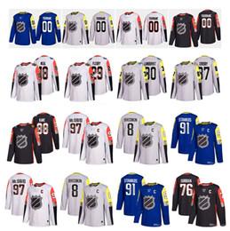 Wholesale Numbers Stars - Custom 2018 All-Star Game 97 Connor McDavid 87 Sidney Crosby 88 Kane 34 Auston Matthews 76 Subban 29 Fleury Any Name Number Hockey Jerseys