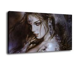 2019 tronos do jogo posteres Luis Royo Fantasy Art Angel, pintura a óleo reprodução de alta qualidade giclée na lona Modern Home Decor Art 3890