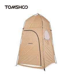 Wholesale camp shower tents - TOMSHOO Changing Fitting Room Camping Tent Outdoor Portable Privacy Toilet Tent Shower Shelter Beach Fishing
