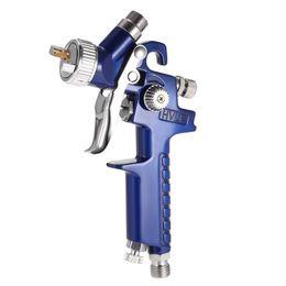 Wholesale gun cars - 0.8mm   1.0mm Nozzle Air Spray Gun Professional HVLP H-2000 Mini Paint Spray Guns Airbrush For Painting Car Aerograph