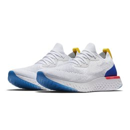 Wholesale Tops For Women Sale - 2018 Top Quality Epic React Instant Go Fly Breath Comfortable Sport Best Boost Mens Women Running Shoes For Sale Athletic Sneakers