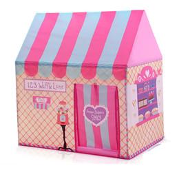 Игры для мальчиков в помещении онлайн-Печатные детские крытый складной палатка мальчиков девочек игрушки играть дом игра Принцесса палатка океан мяч бассейн игра дом