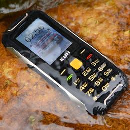 2019 wasserdicht staubdicht shockproof handy Neue Outdoor Power Bank mobile Handy IP67 Real wasserdicht Bluetooth 3.0 Vibrationsfackel Staubdicht Stoßfest Robust 2,8 '' Handy rabatt wasserdicht staubdicht shockproof handy