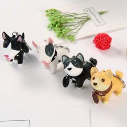 bandiera 12x18 Sconti Pet Dog KeyRing Lovely Dogs Accessori auto Ciondolo borsa moda Bambini Piccoli regali Portachiavi creativo Y002