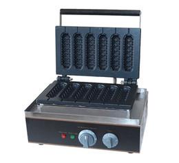 Palos de paleta online-Envío Gratis 6 PCS Lolly Hot Dog Waffle Makers Lolly Sticks vienen con Receta