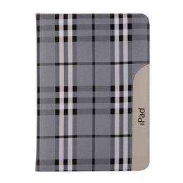 Caixa de couro do ipad da mão on-line-Caso titular da tampa da mão para apple ipad mini 1 2 3 4 a1500 a1500 a1601 a1530 a1550 tablet case capa de couro pu + stylus pen + film.