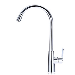 torneira cozinha kitchen Promo Codes - 2017 New Arrival 1 Set Brass Kitchen Mixer Cold and Hot Kitchen Tap Single Hole Water Tap Faucet Torneira Cozinha