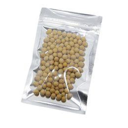 Bolsas de comida on-line-Embalagem de varejo plástico Zipper da válvula de Resealable da folha de alumínio clara dianteira Embalagem de Zyl do saco de Mylar do Zyl da embalagem de varejo do zíper do fechamento sacos de Ziplock da folha de Mylar