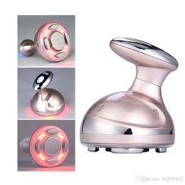 Cavitação ultra-sônica conduzida on-line-RF Cavitação Ultrasonic Máquina de Emagrecimento Queimador de Gordura LED Anti Celulite Lipo Emagrecimento massager Da Pele Máquina de Beleza Da Perda de Peso