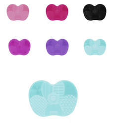 limpiadores de esponja Rebajas 20 Unids Más Nuevo Cepillo de Silicona Limpiador Cosmético Maquillaje Lavado Cepillo Gel Estera de Limpieza Fundación Maquillaje Cepillo Limpiador Pad