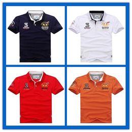 Wholesale polo club - NEW 2018 MARTINA polo shirts CLUB #2 Argentina Brand LA MEN'S FASHION Summer short sleeve T-Shirt business casual Tees LAPEL tops