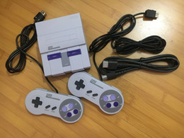 Wholesale mini stores - HDMI Mini TV Video Game Console can store 21 Games for Super NES Classic game player clone snes with Retail Box
