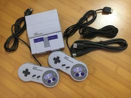 Jogos de snes nes on-line-Console de videogame HDMI Mini TV pode armazenar 21 jogos para clones de jogador de jogo Super NES clássico com caixa de varejo