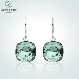 19497d3f4 swarovski crystal drop earrings 2019 - Warme Farben Earring for Women Made  with Swarovski Crystal Elegant