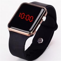 46f756a6cbb Relógios de Pulso casuais para As Mulheres LED Digital Esporte Relógio de  Pulso Crianças Relógio Analógico de Silicone Homens Relogio masculino 2018  Relojes
