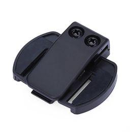 Wholesale Bluetooth V4 - Headset V4 V6 Bluetooth Motorcycle Interphone Motorbike Helmet Intercom Headset Bracket Clip Holder V6 Clip Bracket accessories