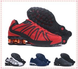 Wholesale Outdoor Floor Lights - 2018 Best Quality Shox Oz Kpu Running Shoes for Men's Outdoor Sneakers Shox Mans Fashion Athletic Sport Shoes Size 40-46