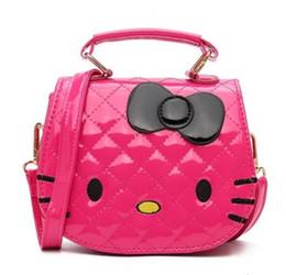 b175cb261871 Hello Kitty Bowknot Handbag Cute Mini Bag Children Cartoon Messenger Bags  For Girls Kids Tote Girls Shoulder Bag