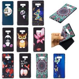 Çiçek Yumuşak TPU Kılıf Galaxy Için (J4 J6 A6 Artı) 2018 Moda Hayvan Kelebek Silikon Baykuş Panda Karikatür Siyah Jel Telefon Kapak Coque cheap animal cover for phone nereden telefon için hayvan kapağı tedarikçiler