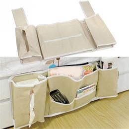 Tv Remote Holder Organizer UK   Useful Hanging Bag Sofa Bedside Bed Pocket  Bed Organizer Hanging