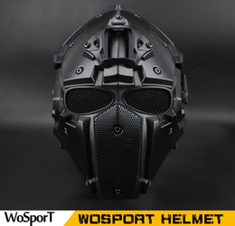 casco del ejército de airsoft Rebajas Venta caliente casco táctico al aire libre Airsoft Paintball Casco táctico Casco protector CS equipo de caza CS Euipment
